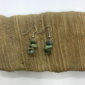 Stone Dangling Earrings