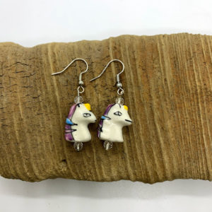 Magical Unicorn Dangling Earrings