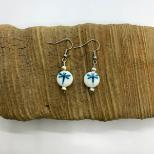 Dragonfly Dangling Earrings