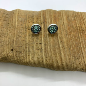 Patterned Stud Earrings