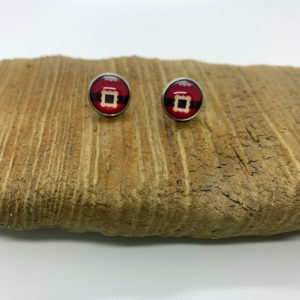 Santa Belt Stud Earrings