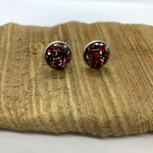 Sparkly Christmas Stud Earrings