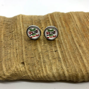 Christmas Story Stud Earrings