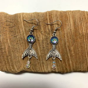 Mermaid of the Sea Dangling Earrings