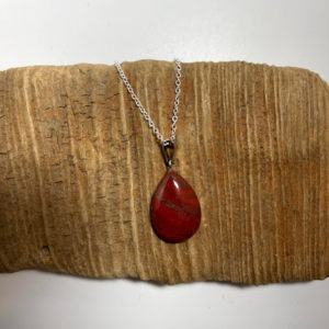 Red Healing Chakra Gemstone Necklace