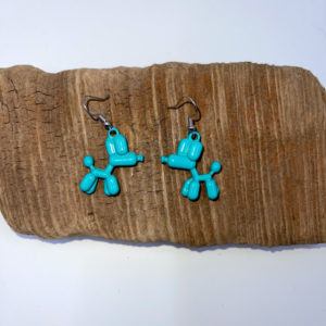 Balloon Animal Dangling Earrings