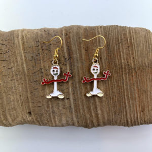 Forky Dangling Earrings