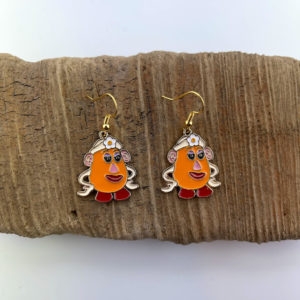 Mrs. Potato Head Earrings